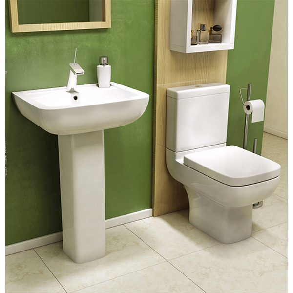 Alternate image of Status II Closed Coupled WC Pan With Cistern And Soft Close Seat 600mm