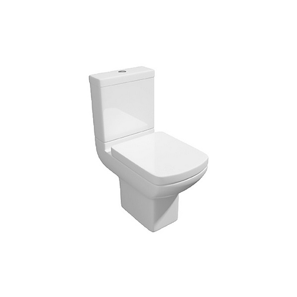 Signature Close Coupled WC Pan With Cistern And Soft Close Seat 600mm
