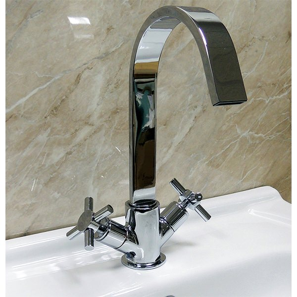 Vola Mono Basin Mixer Tap With Swivel Spout