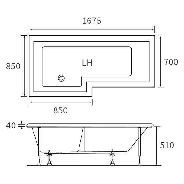 Technical drawing B3-10013 / DIBSHP002
