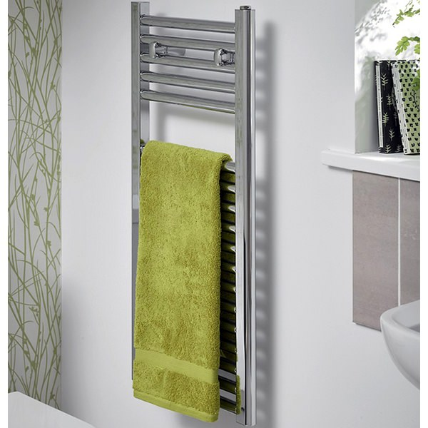 Space Saving Towel Warmer 400 x 1230mm