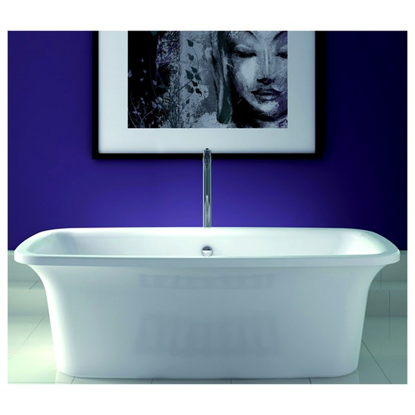 Instinct 1800 x 800mm Double Ended Freestanding Self-Paint Bath