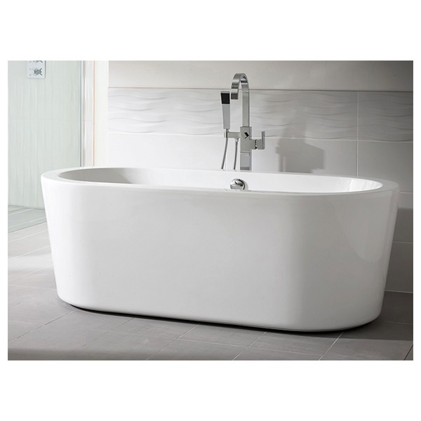 Alternate image of Synergie 1700 x 800mm Double Ended Freestanding Bath