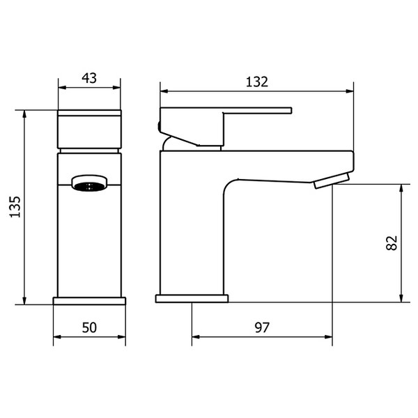 Technical drawing B3-14118 / FRM001
