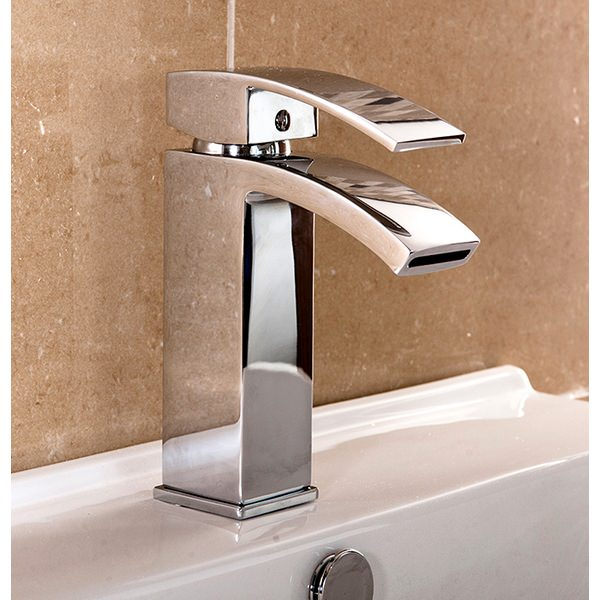 Additional image of Flakes Mono Basin Mixer Tap