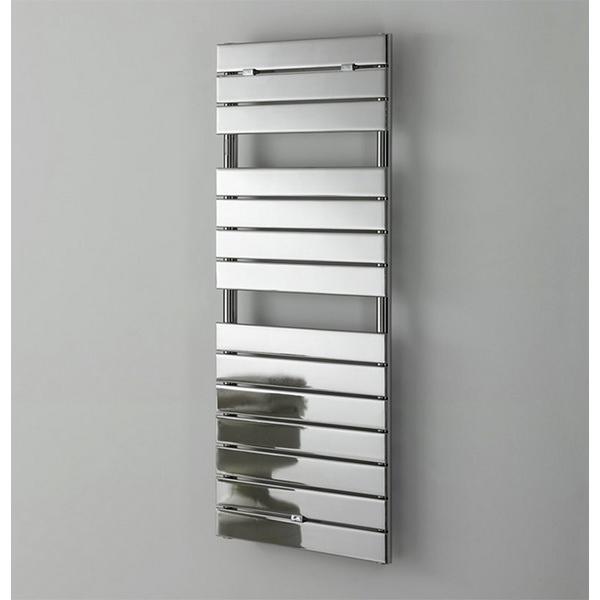 Milan Designer Chrome Straight Towel Warmer 500 x 1210mm