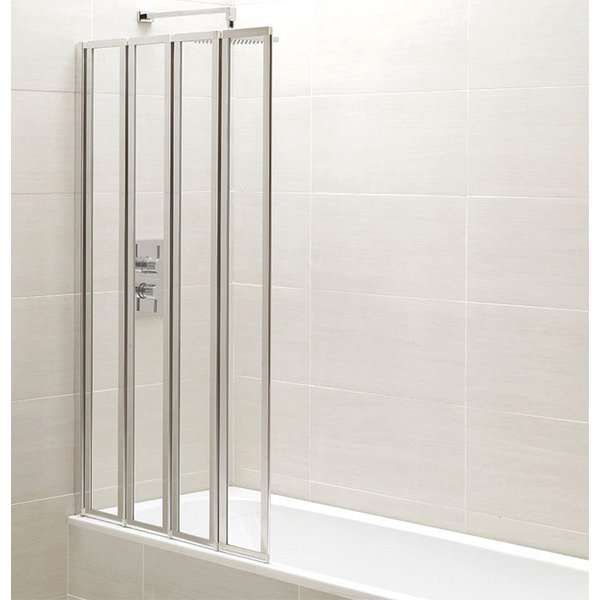 Champlain 4 Fold Bath Screen 1400mm