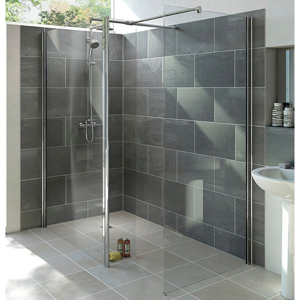 Alternate image of Mist 6 800mm Wetroom Shower Panel With 300mm Rotatable Panel