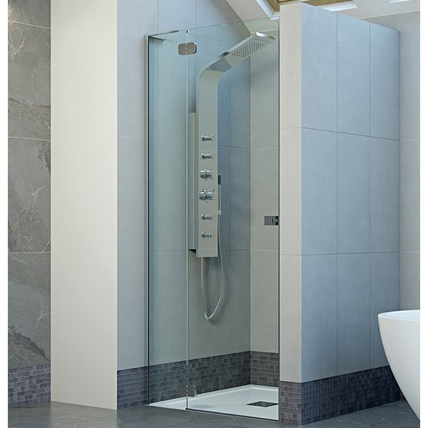 Mist Frameless 1000mm Hinge Shower Door