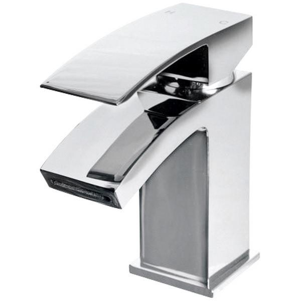Halo Cloakroom Basin Mixer Tap With Waste