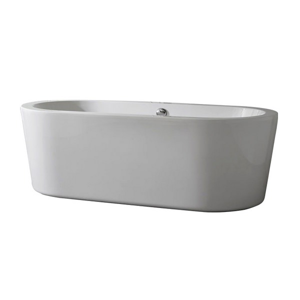 Synergie 1700 x 800mm Double Ended Freestanding Bath
