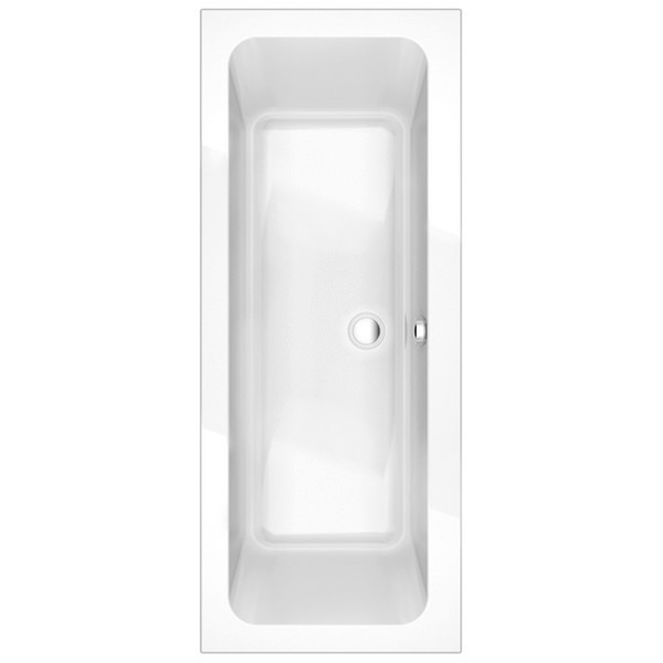 Sense 1700 x 700mm Double Ended Bath