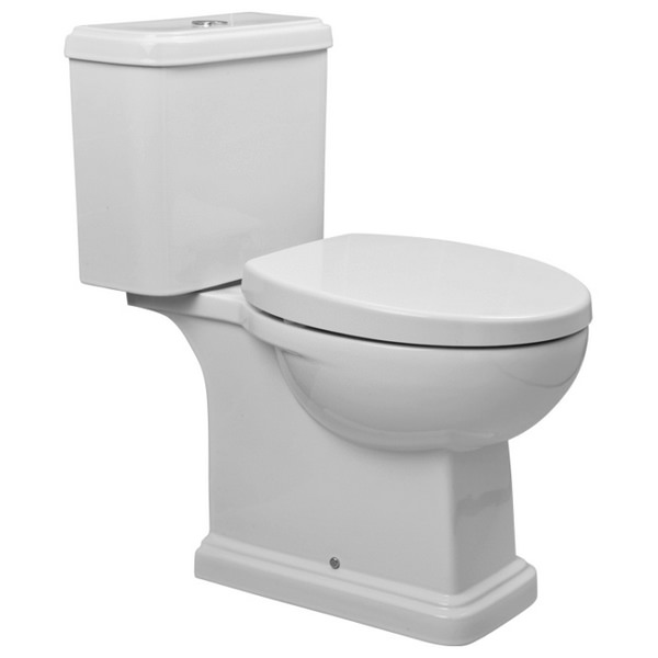 Coronation Close Coupled WC Pan And Cistern 660mm