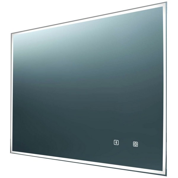 EuroShowers Bluetooth LED Rectangular Mirror 800 x 600mm