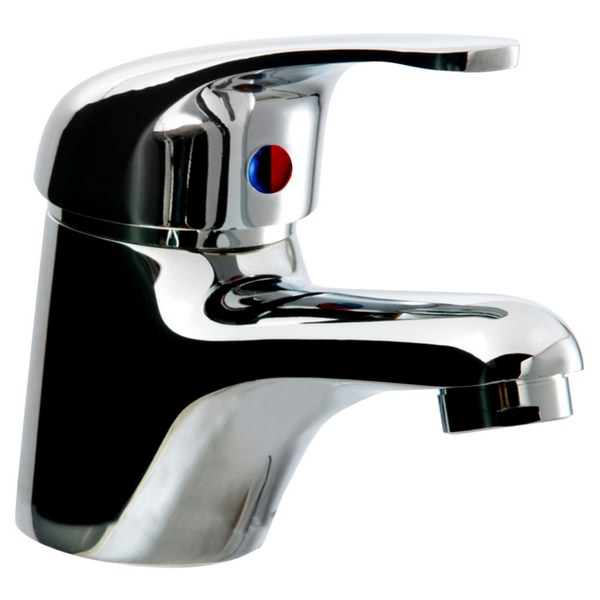 Brice Mono Basin Mixer Tap 40mm With Push Waste