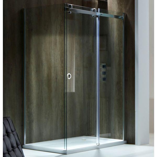 Champlain II 8mm Frameless Sliding Shower Door 1400mm