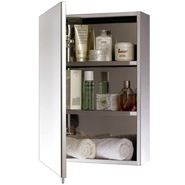EuroShowers One Door Stainless Steel Cabinet 300 x 500mm