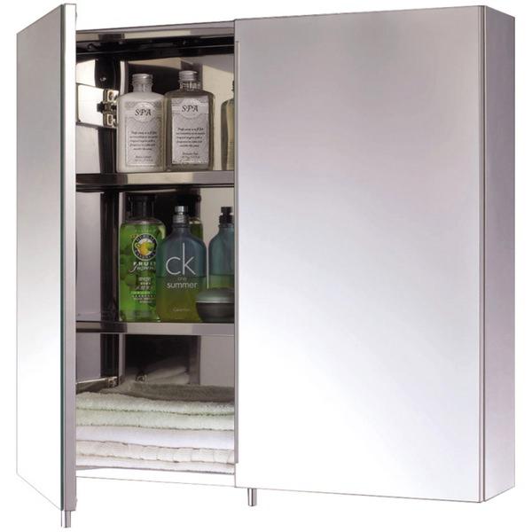 EuroShowers Two Door Stainless Steel Cabinet 600 x 550mm