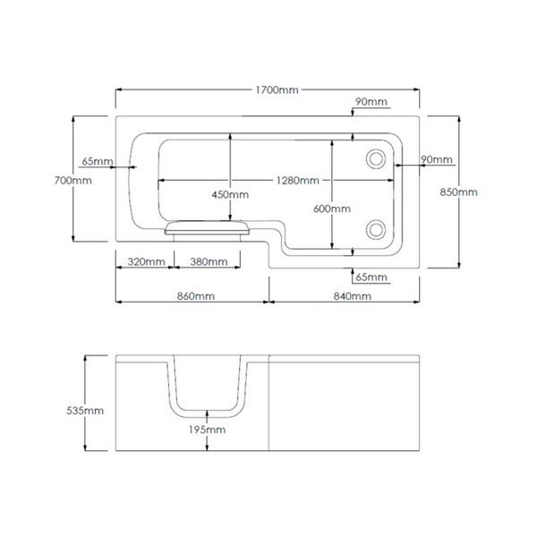 Technical drawing B3-10079 / SOL1770L
