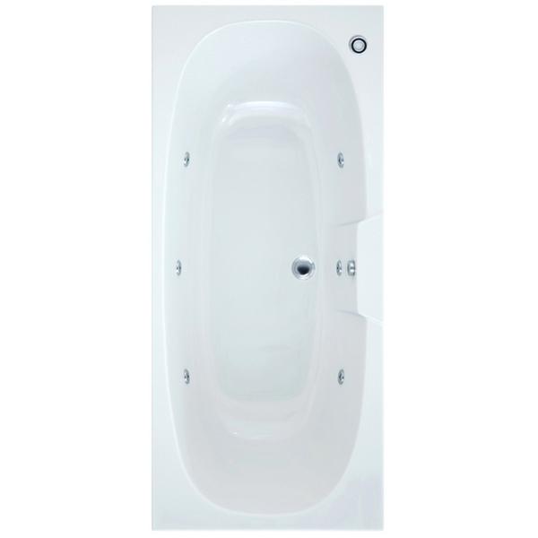 Arka 1700 x 750mm Bath With Wellness Whirlpool Star Buy System