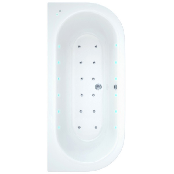 Ultimo 1700 x 800mm Bath With Wellness Airspa System Including Lights