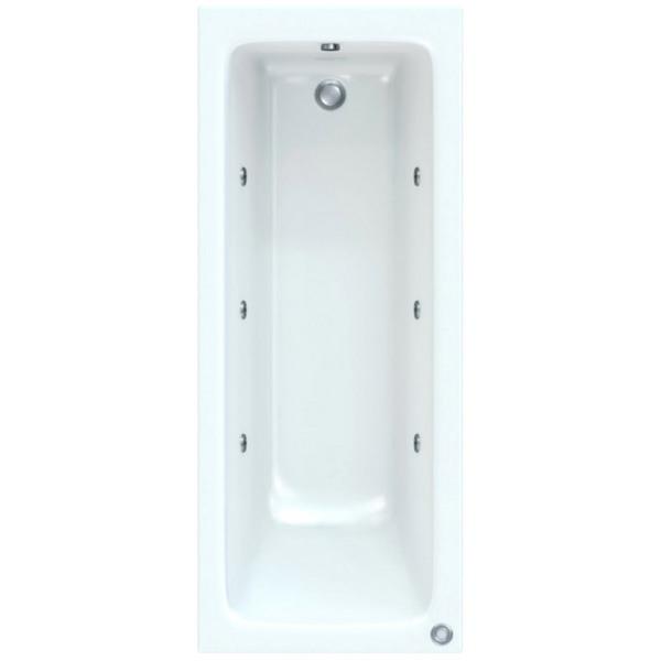 Savoy 1800 x 800mm Bath With Wellness Whirlpool Star Buy System