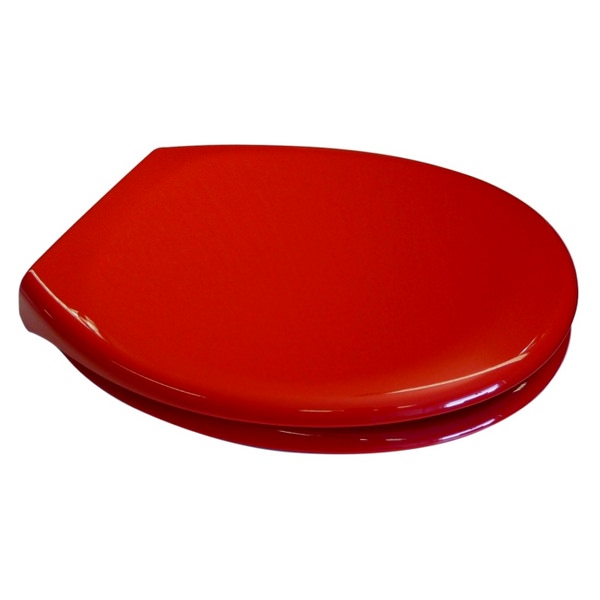 EuroShowers PP Opal Soft Close Toilet Seat - Red