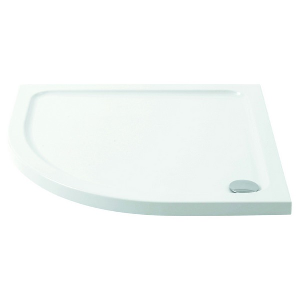 Pure Offset Quadrant Shower Tray 1000 x 800mm
