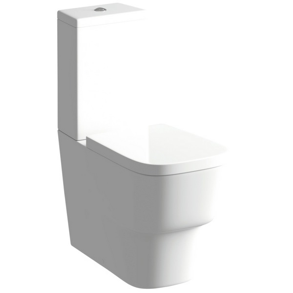 Balli Close Coupled Pan And Cistern With Soft Close Seat