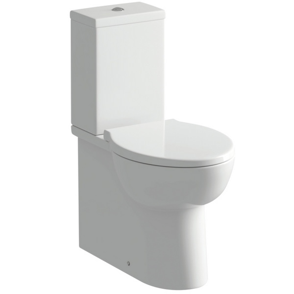 Vicki Close Couple WC Pan And Cistern With Soft Close Seat