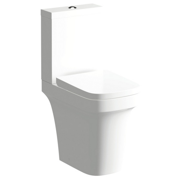 Modest Comfort Height Close Coupled WC With Soft Close Seat