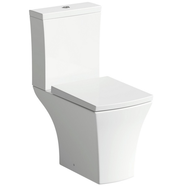 Cloe Close Coupled Pan And Cistern With Soft Close Seat