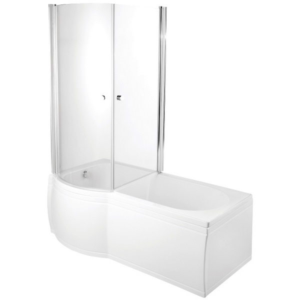 Avada Enclosed Bath Screen 830 x 1500mm