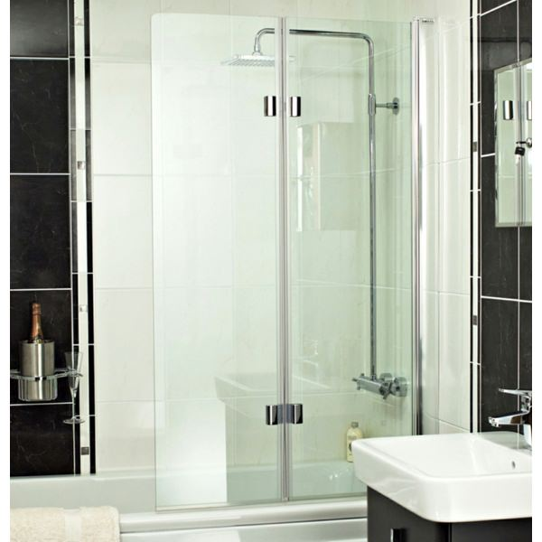 Champlain 6mm Dual Folding Bath Screen