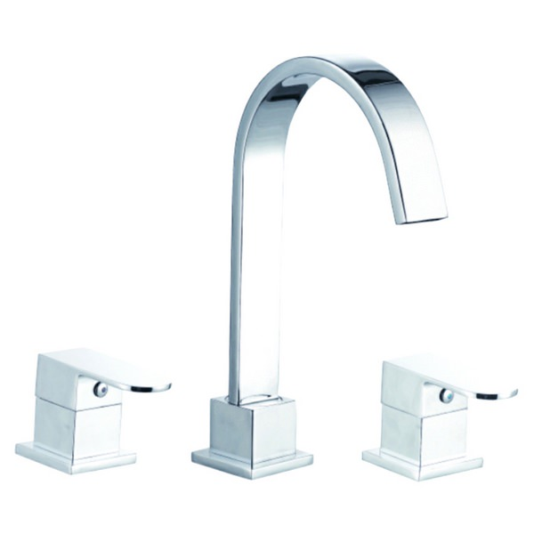 Everest 3 Tap Hole Bath Filler Tap