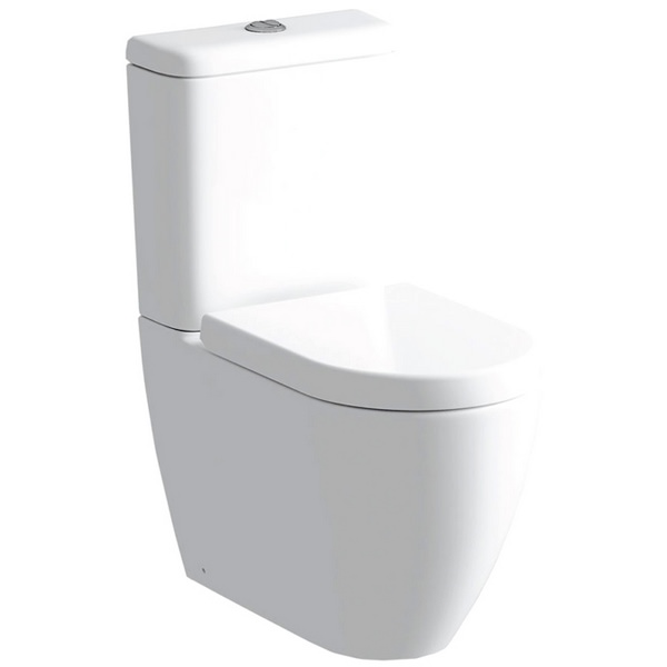 Cigna Close Coupled WC Pan And Cistern With Soft Close Seat