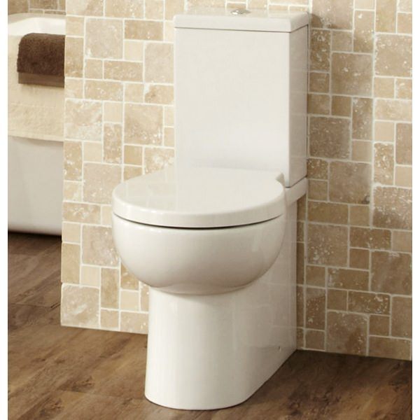 Alternate image of Buzzler Close Coupled WC With Soft Close Seat