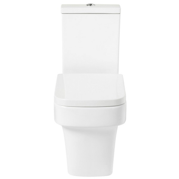 Vobe Open Back Close Coupled WC With Soft Close Seat