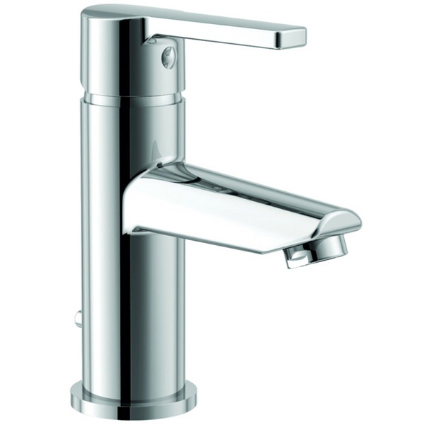 Warwick Basin Mixer Tap With Click Waste