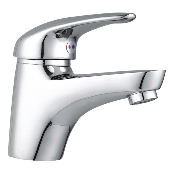 Aero Mono Basin Mixer Tap With Pop Up Waste