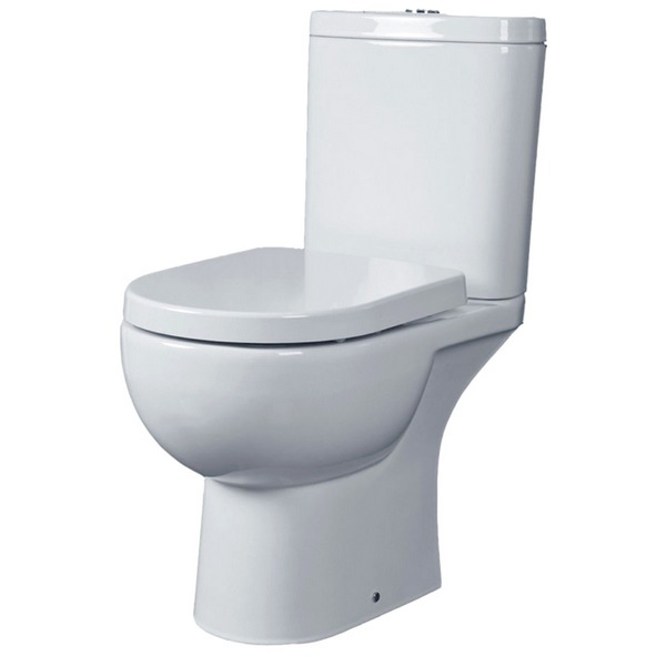 Tulip Close Coupled Open Back WC Pack 625mm