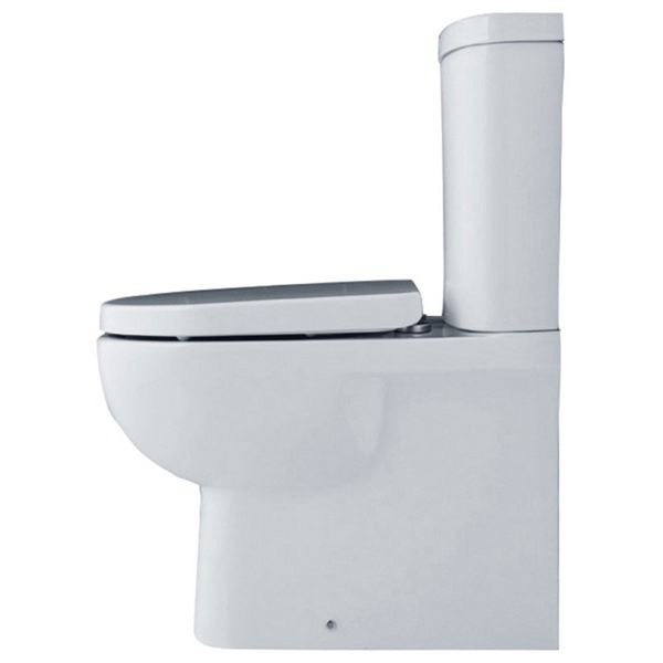 Tulip Close Coupled Fully Back-To-Wall WC Pack 625mm