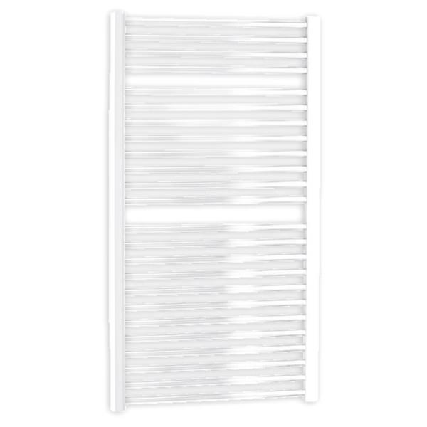 Straight White Towel Warmer 600 x 1110mm