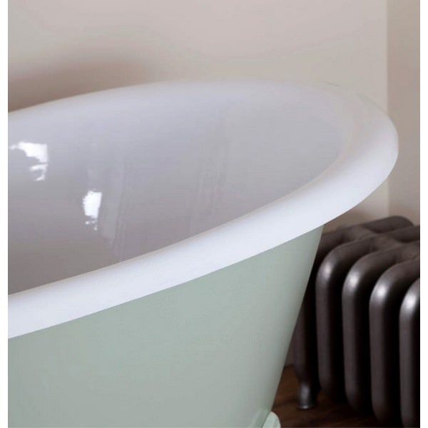 Alternate image of JIG Belvoir Cast Iron Free Standing Bath With Feet 1840 x 780mm