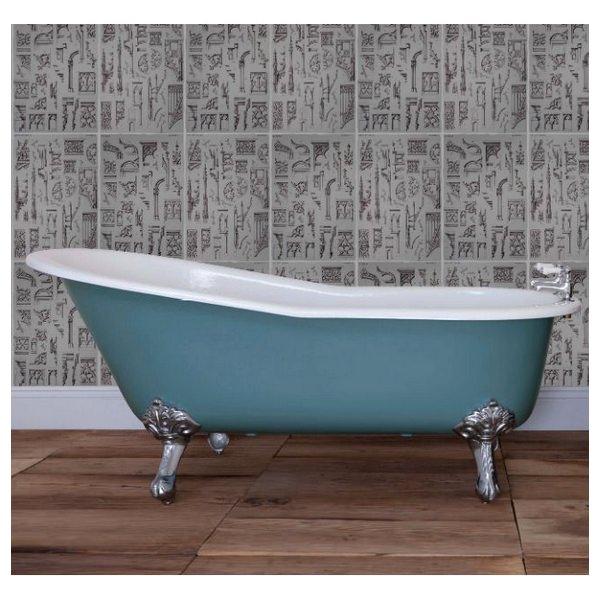 JIG Beaulieu Cast Iron Free Standing Bath With Feet 1720 x 740mm