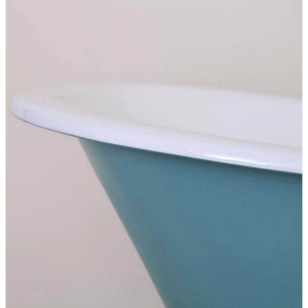 Alternate image of JIG Beaulieu Cast Iron Free Standing Bath With Feet 1720 x 740mm