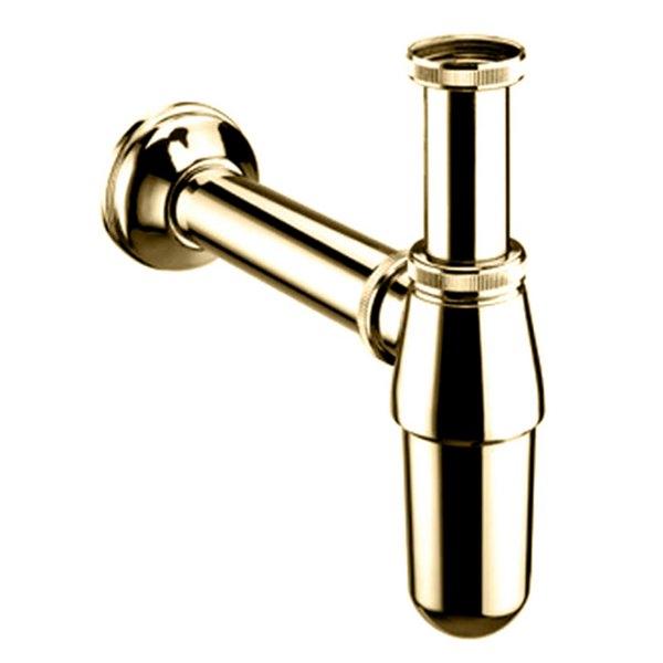 Bristan Luxury Basin Bottle Trap Gold
