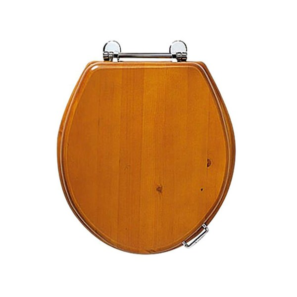 Imperial Windsor Oak Toilet Seat With Standard Hinge