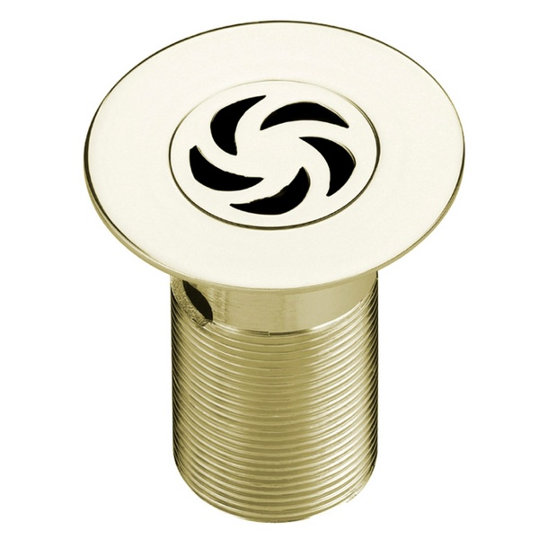 Bristan Luxury 85mm Shower Waste With Removable Grid Gold