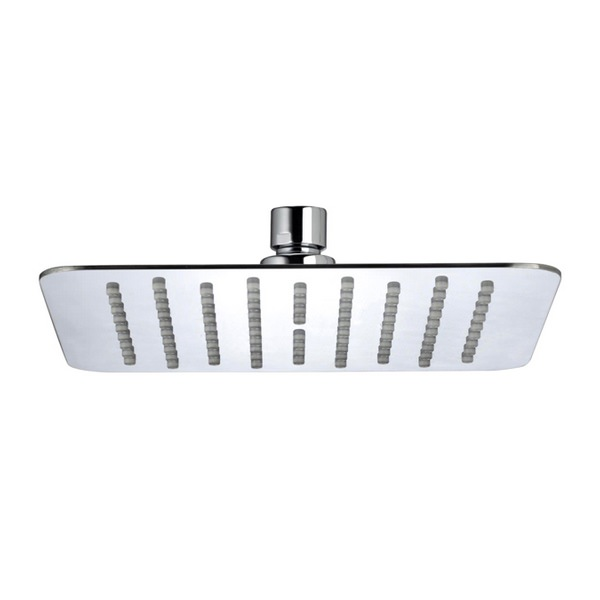 Bristan Stainless Steel 200mm Square Fixed Shower Head Chrome